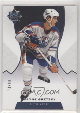 2019-20 Upper Deck Ultimate Collection - [Base] #100 - Legends - Wayne Gretzky /99