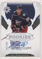 Ultimate Rookies Auto Tier 1 - Kole Sherwood #/299