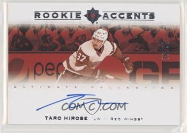2019-20 Upper Deck Ultimate Collection - Rookie Accents #RA-TH - Taro Hirose /99