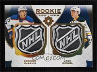 Connor McDavid, Jack Eichel [Near Mint‑Mint] #/2