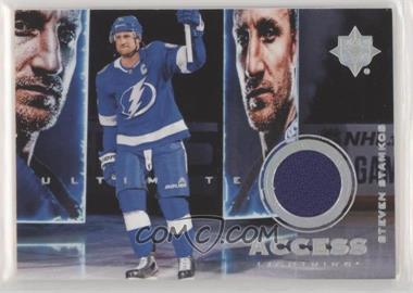 2019-20 Upper Deck Ultimate Collection - Ultimate Access Jersey #UA-SS - Steven Stamkos