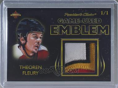 2019 President's Choice Solitaire Series - Game-Used Emblem #THFL - Theoren Fleury /1