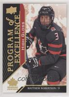 Excellence Exclusives Parallel - Matthew Robertson #/25