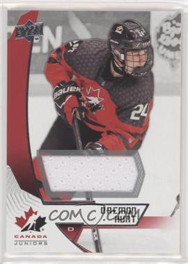 2019 Upper Deck Team Canada Juniors - [Base] - Jersey #82 - Daemon Hunt