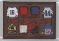 Brett Hull, Chris Pronger, Wayne Gretzky, Alex Pietrangelo #/3