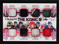 Wayne Gretzky, Adam Oates, Teemu Selanne, Pat LaFontaine, Brendan Shanahan, Dou…