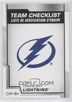 Team Checklist - Tampa Bay Lightning