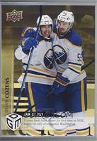 January - (Jan. 22, 2021) - First Career NHL Goal for Sabres Dylan Cozens #/100