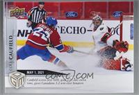 May - (May 1, 2021) - First NHL Goal for Canadiens Cole Caufield is OT Winner A…