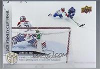 Playoffs - (Jun. 30, 2021) – Stanley Cup Finals Game 2 - Blake Coleman's Diving…