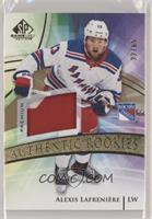 Authentic Rookies - Alexis Lafreniere #/65