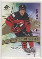 Authentic Rookies Team Canada - Ty Smith #/299