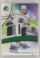 Authentic Rookies - Mikey Anderson #/35