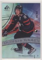 Authentic Rookies Team Canada - Ty Dellandrea #/24