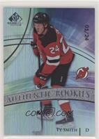 Authentic Rookies - Ty Smith #/24