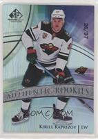 Authentic Rookies - Kirill Kaprizov #/97
