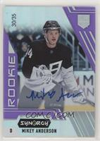 Rookie Auto - Mikey Anderson #/35