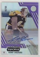 Legend Auto - Gerry Cheevers #/35