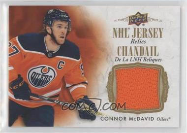 2020-21 Upper Deck Tim Hortons Collector's Series - NHL Jersey Relics Redemptions #J-CM - Connor McDavid