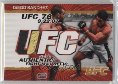 2009 Topps UFC - Authentic Fight Mat Relic - Gold #FM-DS - Diego Sanchez /199