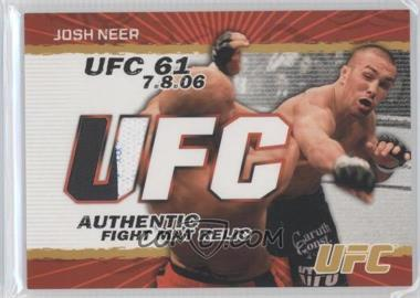 2009 Topps UFC - Authentic Fight Mat Relic - Gold #FM-JN - Josh Neer /199