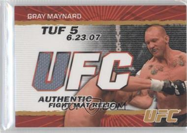 2009 Topps UFC - Authentic Fight Mat Relic - Gold #FM-KJ - Keith Jardine /199