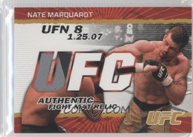 2009 Topps UFC - Authentic Fight Mat Relic - Gold #FM-NM - Nate Marquardt /199