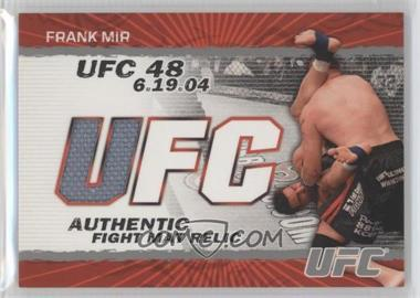 2009 Topps UFC - Authentic Fight Mat Relic #FM-FM - Frank Mir