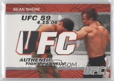 2009 Topps UFC - Authentic Fight Mat Relic #FM-SS - Sean Sherk