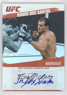 2009 Topps UFC - Autographs #FA-JDS - Junior Dos Santos