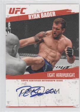 2009 Topps UFC - Autographs #FA-RB - Ryan Bader
