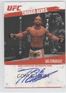 2009 Topps UFC - Autographs #FA-TA - Thiago Alves