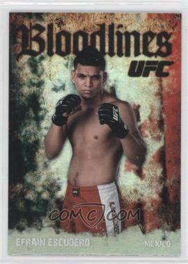 2009 Topps UFC - Bloodlines #BL-3 - Efrain Escudero