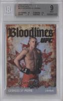Georges St-Pierre [BGS 9 MINT]
