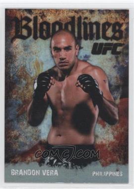 2009 Topps UFC - Bloodlines #BL-6 - Brandon Vera