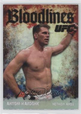 2009 Topps UFC - Bloodlines #BL-9 - Antoni Hardonk