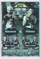 Josh Koscheck, Yoshiyuki Yoshida