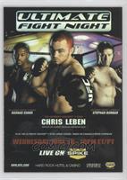UFN5 (Rashad Evans, Chris Leben, Stephan Bonnar)