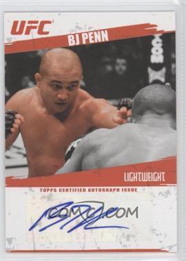 2009 Topps UFC - Fighter Autographs #FA-BJP - B.J. Penn (BJ Penn)