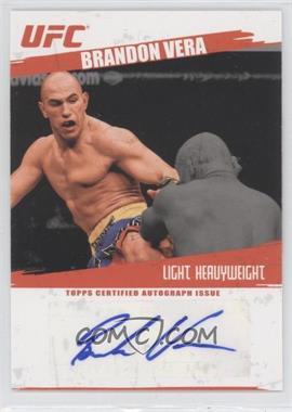 2009 Topps UFC - Fighter Autographs #FA-BU - Brandon Vera