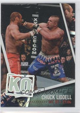 "2009 Topps UFC - Photo Finish #PF-2 - Chuck ""The Iceman"" Liddell (Chuck Liddell)"
