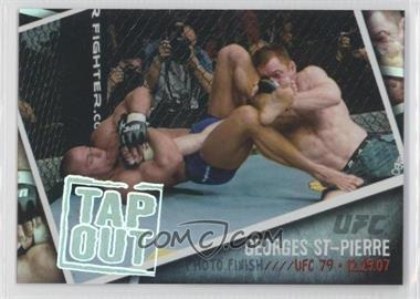 2009 Topps UFC - Photo Finish #PF-8 - Georges St-Pierre