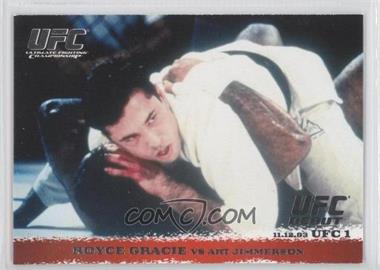 2009 Topps UFC Round 1 - [Base] #1 - Royce Gracie vs Art Jimmerson