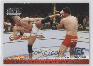 2009 Topps UFC Round 1 - [Base] #17 - Georges St-Pierre vs Karo Parisyan