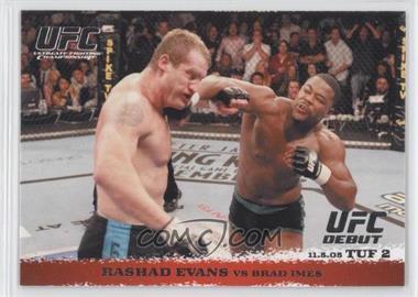 2009 Topps UFC Round 1 - [Base] #31 - Rashad Evans vs Brad Imes