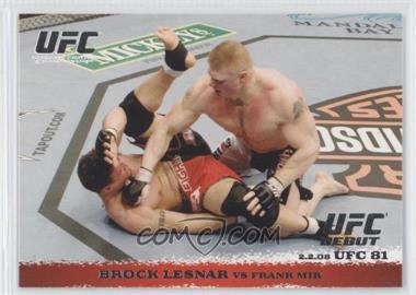 2009 Topps UFC Round 1 - [Base] #81 - Brock Lesnar vs Frank Mir