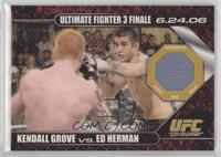 Kendall Grove vs Ed Herman /88