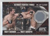 Matt Brown vs Matt Arroyo