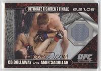 CB Dollaway vs Amir Sadollah