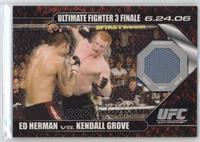 Ed Herman vs Kendall Grove